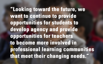 Student and Teacher Agency: One District's Reflection on Taking Action